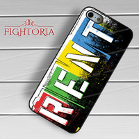 Musical Rent Broadway - zZzA for  iPhone 6S case, iPhone 5s case, iPhone 6 case, iPhone 4S, Samsung S6 Edge