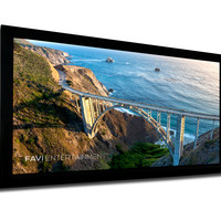 "FAVI 150"" Fixed-Frame Projector Screen - 16:9 (FF3-HD-150)"