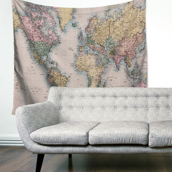 """Travel The World"" Wall Tapestry"