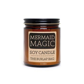 Mermaid Magic Large Soy Candle