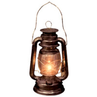 Old Lantern - SU-N0173 by Medieval Collectibles