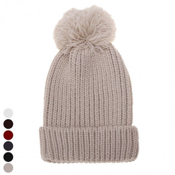New Stylish Women's Fashion Knit Winter Warm Cap Beanie Hat