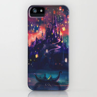 The Lights iPhone Case by Alice X. Zhang | Society6
