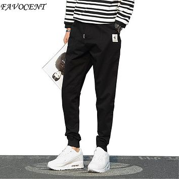Regular Mid Denim Sale New Spring And Summer 2017 Men's Casual Pants Japanese Tide Male Harem Bundle Feet M-5xl Free Shipping