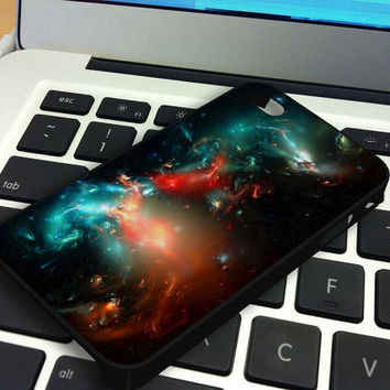 Fantasy Galaxy Nebula iPhone 5 iPhone 4 / 4S Plastic Hard Case Soft Rubber Case