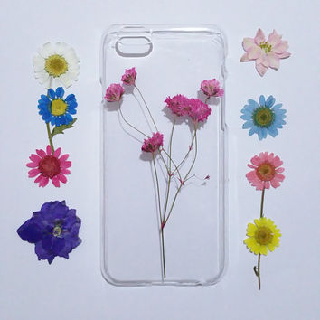 Galaxy note 4 Case, Samsung Galaxy note 5 case, flower note 3 Cases, note 5 case clear, Galaxy s6 case, pressed flower samsung galaxy case