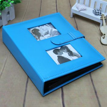 Fremdness 200 quality leather photo album photo album book baby large capacity good quality photo album for 6 inch photo picture
