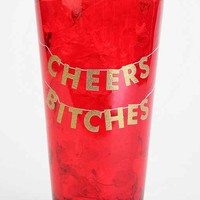 Cheers Pint Glass- Red One