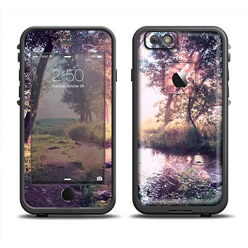 The Vivid Colored Forrest Scene Apple iPhone 6/6s LifeProof Fre Case Skin Set