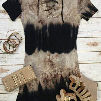 It's Only the Beginning Tunic Dress