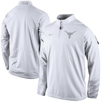 Texas Longhorns Nike Platinum Fly Rush 2.0 Jacket - White