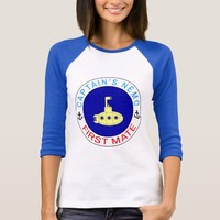 Captain's Nemo First Mate funny T-Shirt