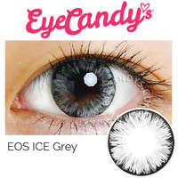 EOS Ice Grey Cosmetic Circle Contact Lens | EyeCandy's