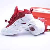 Nike  Agassi  White / Red Blackball  Sneaker