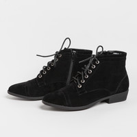 Regina Lace-up Ankle Boots