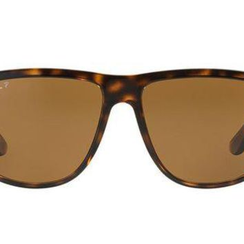 UCANUJ3V Ray Ban 4147 710/57 60mm Sunglasses Tortoise/Brown