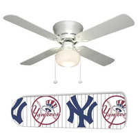 "New York Yankees 42"" Ceiling Fan and Lamp"