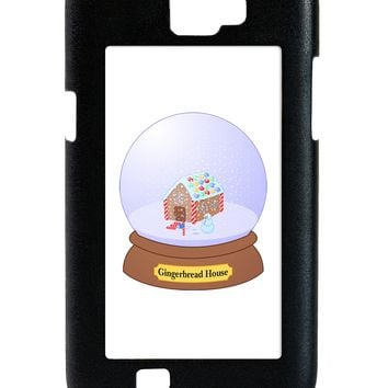 Little Gingerbread House Snow Globe Galaxy Note 2 Case  by TooLoud