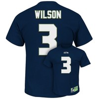 Majesitc Seattle Seahawks Russell Wilson The Eligible Receiver II Tee