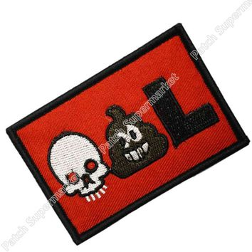"""Deadpool Dead pool Taco 3""""  Emoji Parody Movie TV Series Fancy Dress Costume Embroidered iron on patch TRANSFER APPLIQUE AT_70_6"""