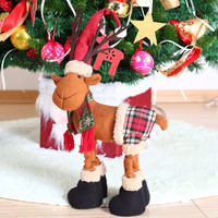Special Santa Claus Snow Man Reindeer Doll Christmas Decoration Christmas Tree Hanging Ornaments Pendant Christmas Gift [9601215311]