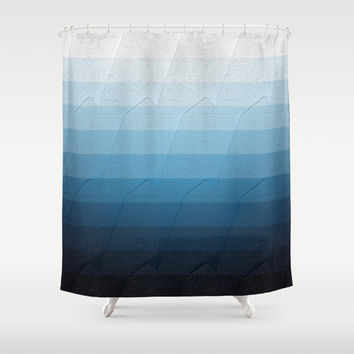 Geometric 09 Shower Curtain by VanessaGF