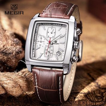 ir fashion casual military chronograph quartz watch