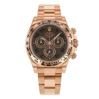 Rolex Daytona 116505 CHO 18K Everose Gold Automatic Unisex Watch