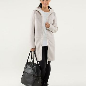 city softshell *tweed | women's outerwear | lululemon athletica