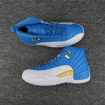 PEAP9IW 2017 New Color 'Sky BLUE' Men Air jordan 12 retro sneaker