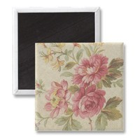 VINTAGE FLORAL MAGNETS from Zazzle.com