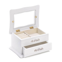 CLASSIC WHITE JEWELRY BOX