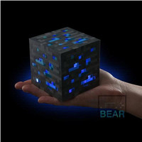 """Minecraft Light-up Diamond Ore 1PCS """"Best Collection and Gift"""""""