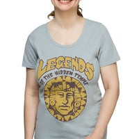 Legends of the Hidden Temple Ladies' Tee - Lunar Rock,