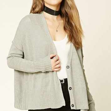 Buttoned-Down Front Cardigan
