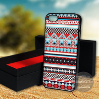Aztec Tribal Geometric Pattern Blue case for Note 2,3/iPod 4th 5th/iPhone 5,5s,5c,4,4s,6,6+[ JYJ ] LG Nexus/HTC One/Samsung Galaxy S3,S4,S5