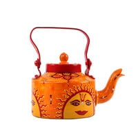 Hand-painted Sunny Side Kettle