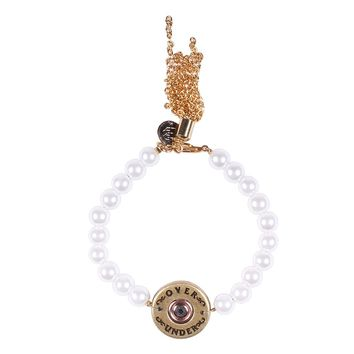 Bourbon & Boweties Pearl Bangle by Over Under Clothing