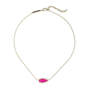 Kendra Scott Skylie Necklace Gold/Magenta - Zappos.com Free Shipping BOTH Ways