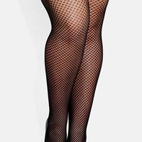 Plus Size Women's City Chic Fishnet Tights