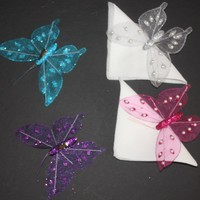 """5"""" Butterfly with Metal Clip"""