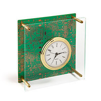 Executive Motherboard Desk Clock