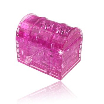 Crystal Puzzle Treasure Chest
