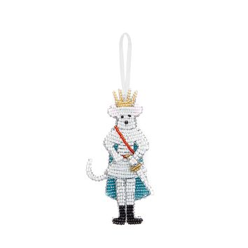 Beaded Rat King Ornament