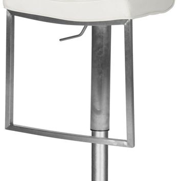 Newman Swivel Barstool White