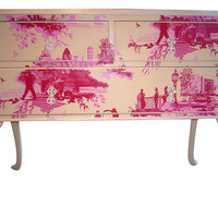 Bryonie Porter beautiful wallpapered furniture