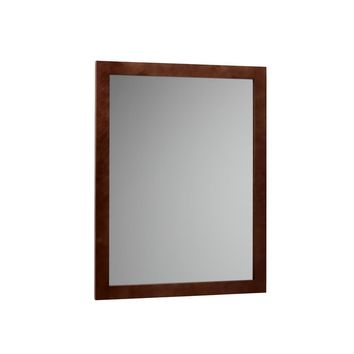 Ronbow M2431-H01 Contemporary Style Mirror In Dark Cherry