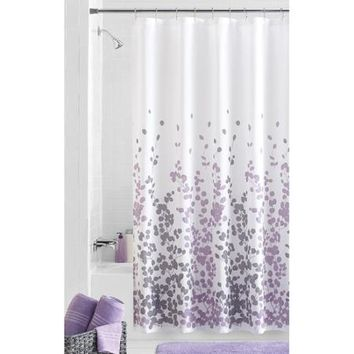 Mainstays Sylvia Fabric Shower Curtain - Walmart.com