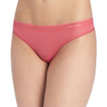 Calvin Klein Women's Second Skin Thong Panty