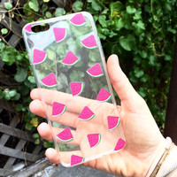 Watermelon Slice iPhone Case